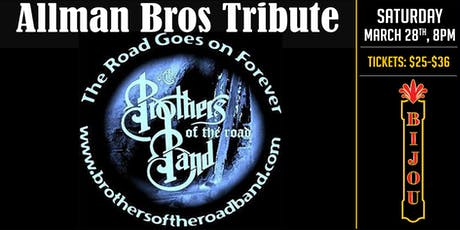 A Tribute to The Allman Brothers & Dickey Betts - Brothers of the Road Band tickets