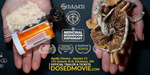 DOSED Documentary + Q&A - One Show Only at Apollo Cinema!