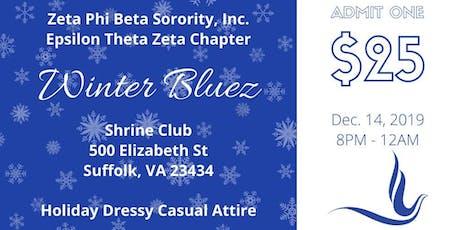 Zeta Phi Beta Sorority, Inc. ETZ Winter Bluez Dance tickets