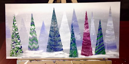 Christmas Tree Paint Party