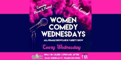 Women Comedy Wednesday tickets
