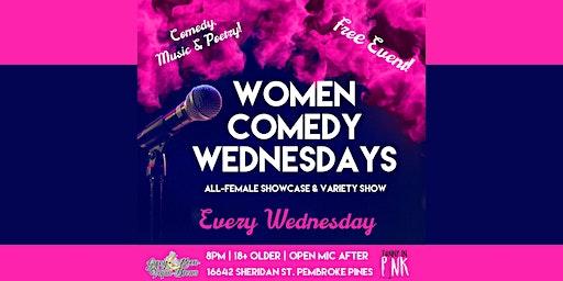 Women Comedy Wednesday
