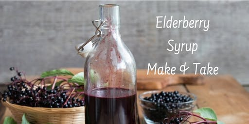 Elderberry Syrup Make & Take
