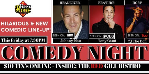 Funny Bone Comedy Night - Premier Comedy Club in Jacksonville