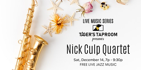 Free Jazz Music - Nick Culp Quartet tickets