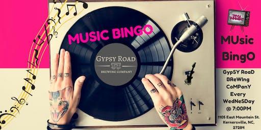 MUsic BingO at Gypsy Road Brewing Company