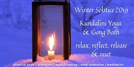 Winter Solstice Celebration - Kundalini Yoga & Gong Bath Workshop tickets