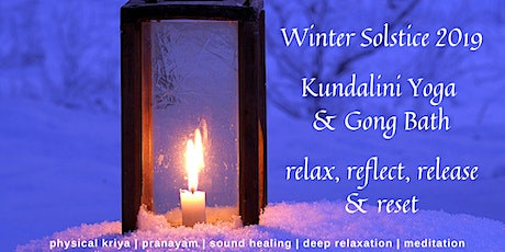 Winter Solstice Celebration - Kundalini Yoga & Gong Bath Workshop tickets