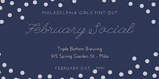 Philadelphia Girls Pint Out February Social