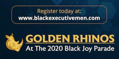 Golden Rhinos at the Black Joy Parade tickets