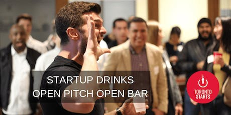 Startup Drinks - OPEN PITCH.OPEN BAR tickets