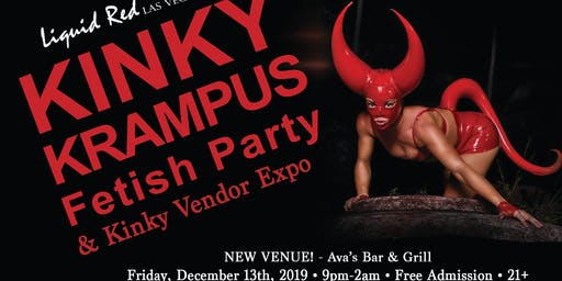 Liquid Red Kinky Krampus Party