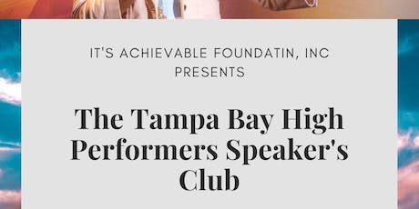 Tampa Bay High Performers Speakers Club tickets