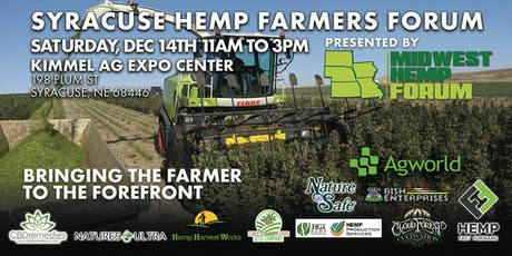 SYRACUSE HEMP FARMERS FORUM tickets