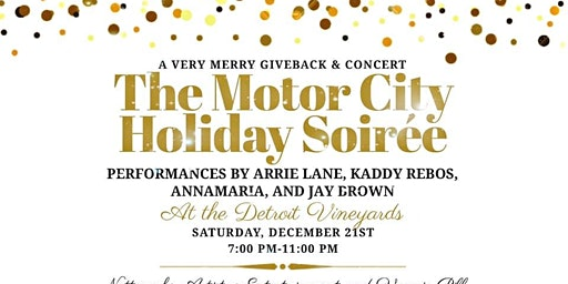 The Motor City Holiday Soirée: A Very Merry Giveback & Concert