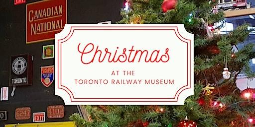 Christmas at the Toronto Railway Museum