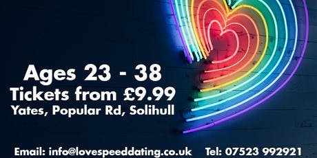 Speed Dating Ages 23 - 38  tickets