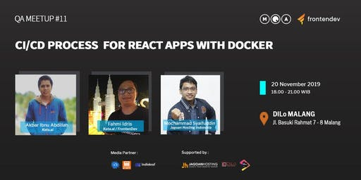 QA Meetup #11 - CI/CD Process for React Apps with Docker