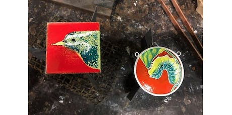 Intro to Enameling Jewelry (02-22-2020 starts at 4:00 PM) tickets