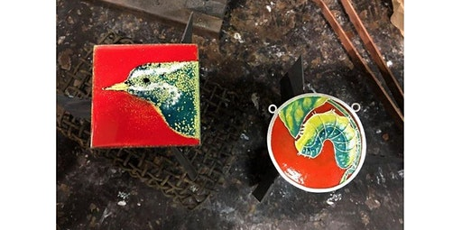 Intro to Enameling Jewelry (02-22-2020 starts at 4:00 PM)
