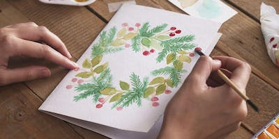 Painting: Holiday Greeting Cards