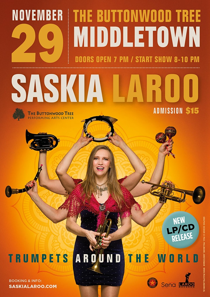 Trumpet lady Saskia Laroo celebrates 40 years on stage with  new album image