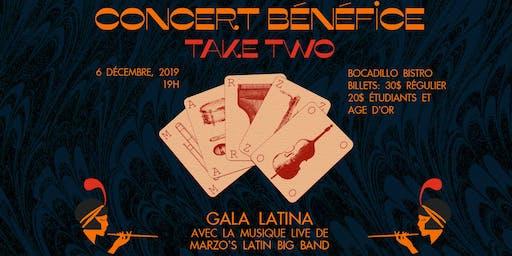 Concert bénéfice: Gala au son de la Salsa TAKE 2 -