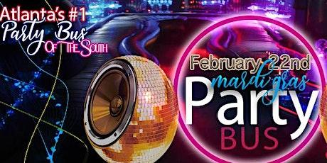 Roll Call! Mardi Gras Party Bus DJ|Unlimited Drinks & Jello Shot tickets
