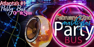 Roll Call! Mardi Gras Party Bus