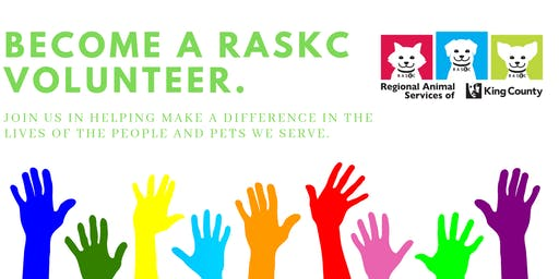 New Volunteer Orientation in Kirkland  (Sat., Jan 18  @ 2pm) Downtown Library