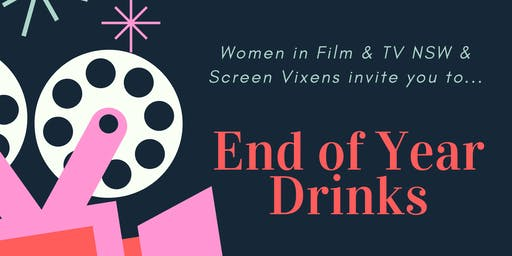 End of Year Drinks - Hosted by WIFT NSW & Screen Vixens