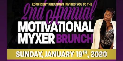 2nd Annual Motivational Myxer Brunch