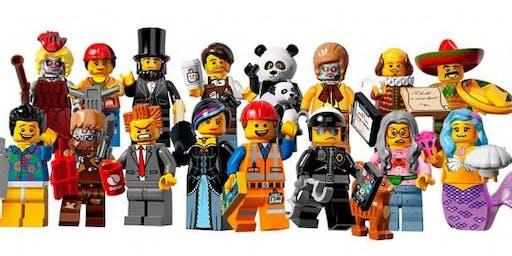 Wacky Winter Lego Bingo