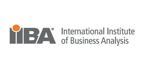 IIBA End of Year Joint Event 2019 tickets