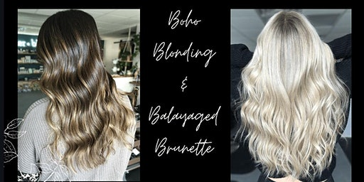 Boho Blonding + Balayaged Brunette