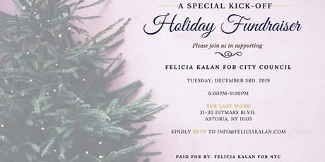 Holiday Kick-Off Fundraiser tickets