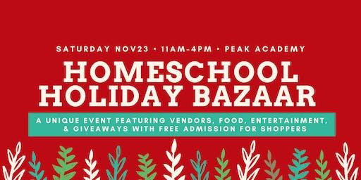 Homeschool Holiday Bazaar
