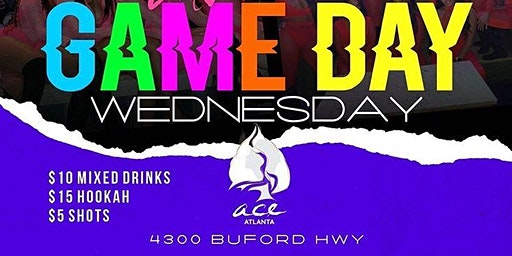 KARAOKE, VIDEO & CARD GAMES -- GAME DAY WEDNESDAYS @ ACE ATLANTA