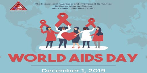 World AIDS Day, Baltimore Alumnae Chapter, Delta Sigma Theta Sorority, Inc.