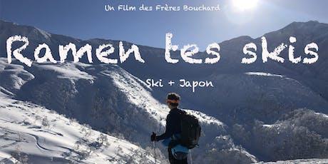 Ciné-conférence Voyage de ski au Japon à Sherbrooke tickets