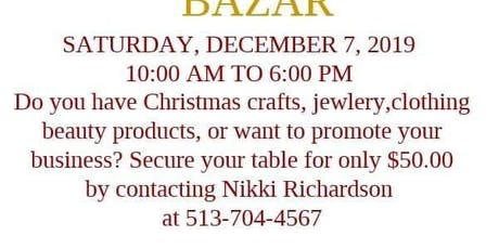 Christmas Bazar tickets