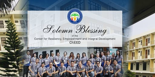 Blessing of the Center for Resiliency, Empowerment and Integral Development