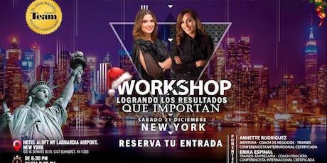 Workshop: Logrando los resultados que importan tickets