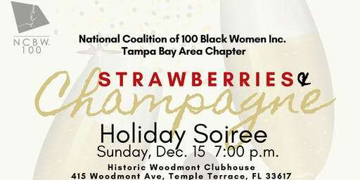 Strawberries and Champagne Holiday Soiree