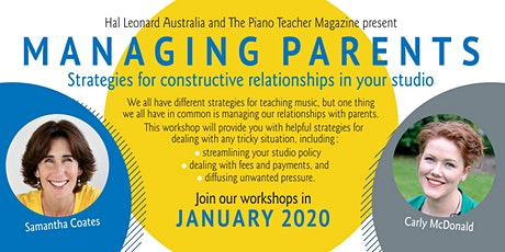 Managing Parents - Canberra tickets