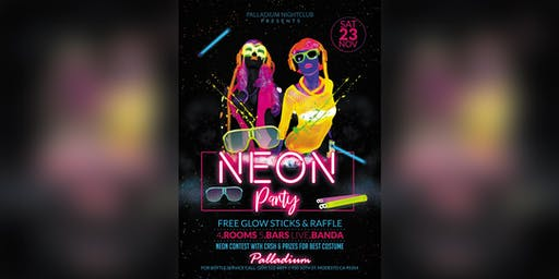 Neon Party at the Palladium Nightclub in Modesto