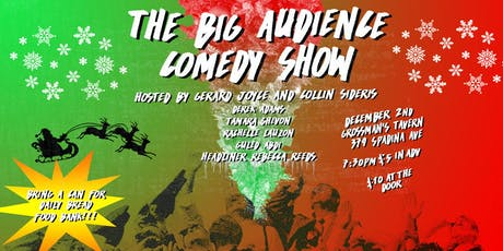 The Big Audience Comedy Show - Christmas in the City! tickets