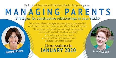 Managing Parents - Perth tickets