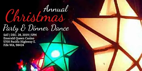 Annual Christmas Party Dinner-Dance tickets