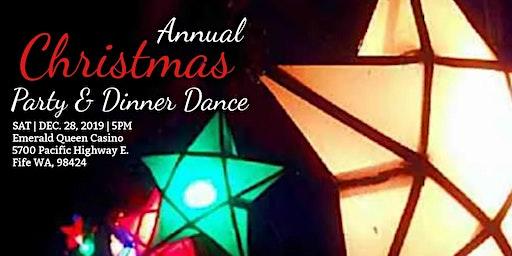 Annual Christmas Party Dinner-Dance
